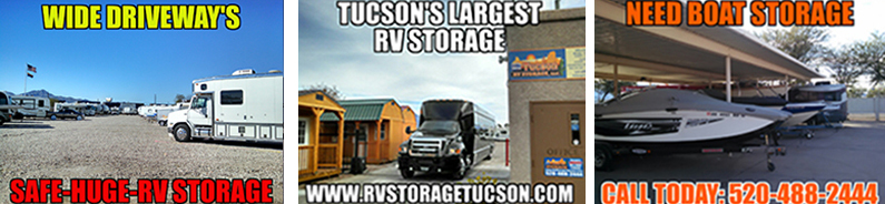 long driveways, Tucsons Largest RV Storage, Need boat storage